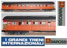 RIVAROSSI 9547 CARROZZA PANORAMA OBSERVATION MILWAUKEE RAIL-ROAD USA OVP SCALA-N