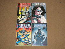 DH - TERMINATOR Secondary Objectives 1 - 4  Complete Mini-Series!!  1991 VF