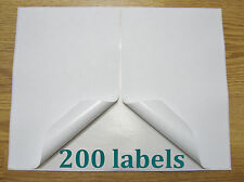 200 Shipping Labels Self Adhesive Stick Printer Paper Usps Fedex Ebay Postage