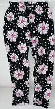 Gymboree NWT 4 Glamour Ballerina black and pink flower and dot leggings
