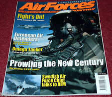Air Forces Monthly 2001 September RAF C-17,EA6B Prowler,F-16