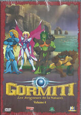 Gormiti dvd-volume 4 - the lords of nature - 5 episodes
