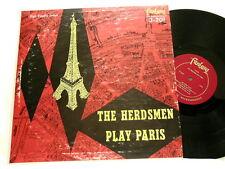 HERDSMEN PLAY PARIS Ralph Burns Cy Touff Bill Perkins Fantasy mono LP