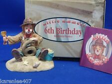 Little Emmett 6th Birthday Figurine Clown New in Box!
