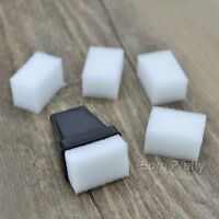 5 x Schwamm Sponge & 1 x Schwarz Schwammhalter für Gradient Nail Art Werkzeug