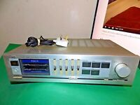 JVC Vintage Stereo Amplifier Amp A-X40 Phono Quality Made in Japan Grey Silver