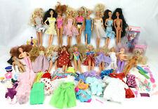 Huge 20-Pc Lot Of Vintage Barbie Dolls Plus Clothing, Shoes & Accessories!