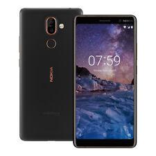 "NUEVO Nokia 7 Plus (TA-1062) 6.0"" 4GB / 64GB LTE Doble SIM Desbloqueado NEGRO"