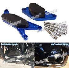 Engine Case Cover Crash Pad Sliders Blue Fit 2000-2005 SUZUKI GSXR GSX-R 600 750