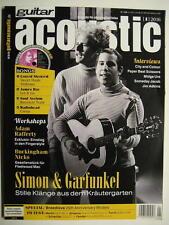 GUITAR ACOUSTIC MAGAZIN 1/2016 - SIMON & GARFUNKEL LYNYRD SKYNYRD INCL. CD