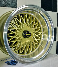 "17"" BLANK OS FORMULA MESH ALLOY WHEELS suit MOST OLD SCHOOL CARS,FORD, HOLDEN"
