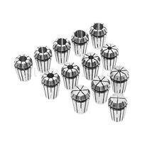15Pcs/Kit ER20 Collet Chuck 65Mn Spring Steel For CNC Milling Lathe Tool Holder