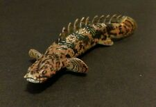 RARE Retired Kaiyodo Fossil Fish Polypterus Nile Bichir Spotted Fish Figure A