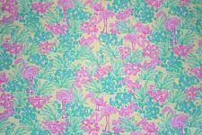 Lilly Pulitzer Poplin Cotton Fabric ~ Snowbird ~ 1 yard (Stretchy)