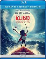 Kubo and the Two Strings [Blu-ray 3D + Blu-ray + Digital] New Free Shipping