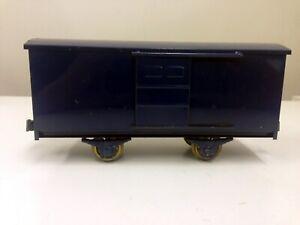 Katsumi Box wagon (with door opening / closing) - Tin rare model made in Japan