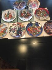 $52.00 for all 9. Avon Collectible 8� Plates 1989 thru 1996 w/boxes.