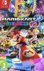 Mario Kart 8 Deluxe, LEER DESCRIPCION
