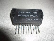 SANYO DARLINGTON AUDIO POWER AMPLIFIER IC STK0059   SHIPS FREE FROM USA