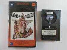 "BETA TAPE ""Hollywood Boulevard"" 1976 Warner Betamax 1983 Candice Rialson"