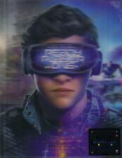 NEW Ready Player One 3D Lenticular SteelBook Blu-ray Manta Lab Exclusive - Mint