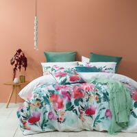 Bianca Indra Quilt Cover Set Pink in All Sizes