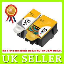 2 Ink Cartridge For Kodak 30 XL Black 30 CL ESP C315 C310 C110 C115 Hero 3.1 5.1