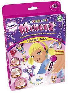 241278 Giochi Preziosi - Bindeez Mineez Starter Pack 400 Perlen Kreativ Geschenk