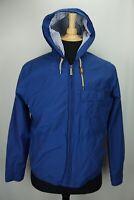 Brooks Brothers Lightweight Hooded Royal Blue Cotton Blend Mens Jacket Sz M