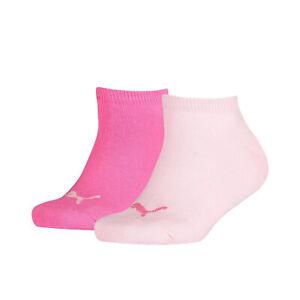 PUMA Sports Socks Kids Sneaker (2 Pair Pack) Childrens UK 6 up to Teens uk 8