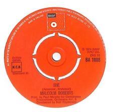 "Malcolm Roberts - She - 7"" Vinyl Record Single"