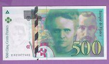 (Ref:R.025) 500 FRANCS PIERRE ET MARIE CURIE 1994 (NEUF)