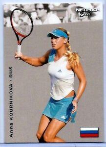 "ANNA KOURNIKOVA 2003 ""1ST EVER PRINTED"" NETPRO ELITE ROOKIE CARD #E4! MINT!"