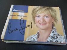 75967 Sabine Steuernagel TV Musik Film Kino original signierte Autogrammkarte