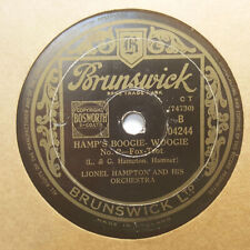 LIONEL HAMPTON Hamp's Boogie Woogie/New Center Avenue Breakdown BRUNSWICK HEAR