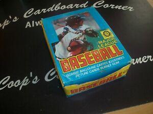 1979 OPC O Pee Chee Full Wax Box 36 Packs Ozzie Smith Rookie?