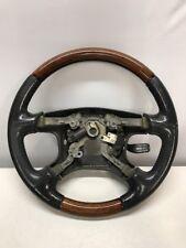 2001 2002 Mitsubishi Montero Limited Wood Steering Wheel OEM