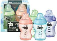 Tommee Tippee 4pk Colour My World Hawaii 260ml Bottles