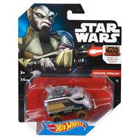 Hot Wheels Star Wars 1:64 Scale Diecast GARAZEB ORRELIOS Character Car (CNB52)