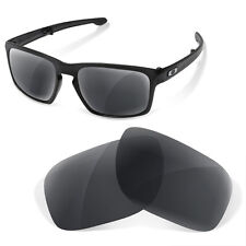 Polarized Replacement Lenses for Oakley lifestyle sliver  black iridium color