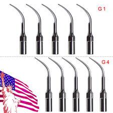New Listing5pcs Dental Ultrasonic Piezo Scaler Tips Fit Ems Handpiece Scalling G1 G4 Ju