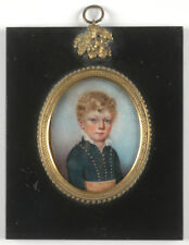 """Portrait of a little noble boy"", high quality English miniature!!!, 1810/15"