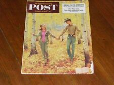 Alcoholics Anonymous Collectors! Very Rare! Saturday Evening Post Oct 18, 1952