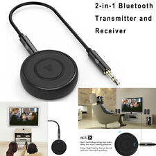 YOSH 2-in-1 Bluetooth 4.1 Transmitter and Receiver 3.5mm Audio Adapter For TV