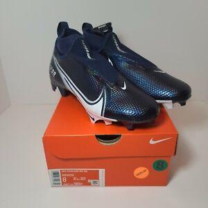 Nike Vapor Edge 360 Pro Men's Football Cleats Navy Blue White AO8277-403 Size 8