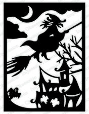 Impression Obsession HAUNTED HOUSE FRAME Thin Steel Cutting Die DIE738-YY