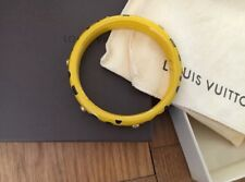 Louis Vuitton Kusama Infinity Dots Bracelet Bangla Medium Yellow