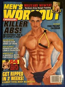 MEN'S WORKOUT MAGAZINE, Feb 2006, EXERCISE, FITNESS, HEALTH, MEN'S INTEREST