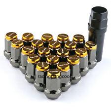 M12x1.5 Project MU Gold Composite SPEC Steel Wheel Nuts Wheel Rims Lug Nuts