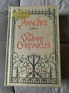 VAMPIRE CHRONICLES Anne Rice BRAND NEW FACTORY SEALED LEATHER